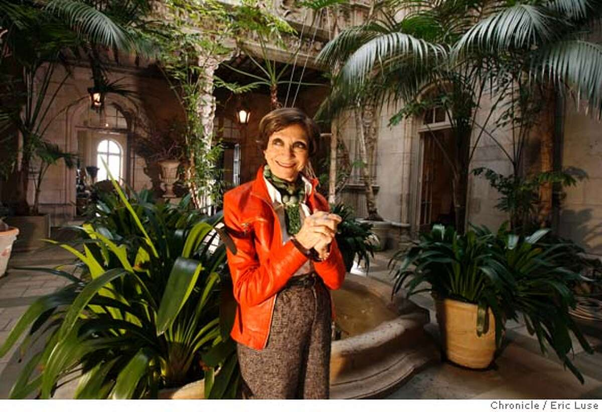 dodie_077_el.JPG Dodie Rosekrans, San Francisco jet setter in her Pacific Heights home. Photographer: Eric Luse / The Chronicle names cq from source Ran on: 01-21-2007 Dodie Rosekrans in her lush Pacific Heights courtyard, top. A close-up of the jet-setters gold shoes by Commes des Gar�on, above.