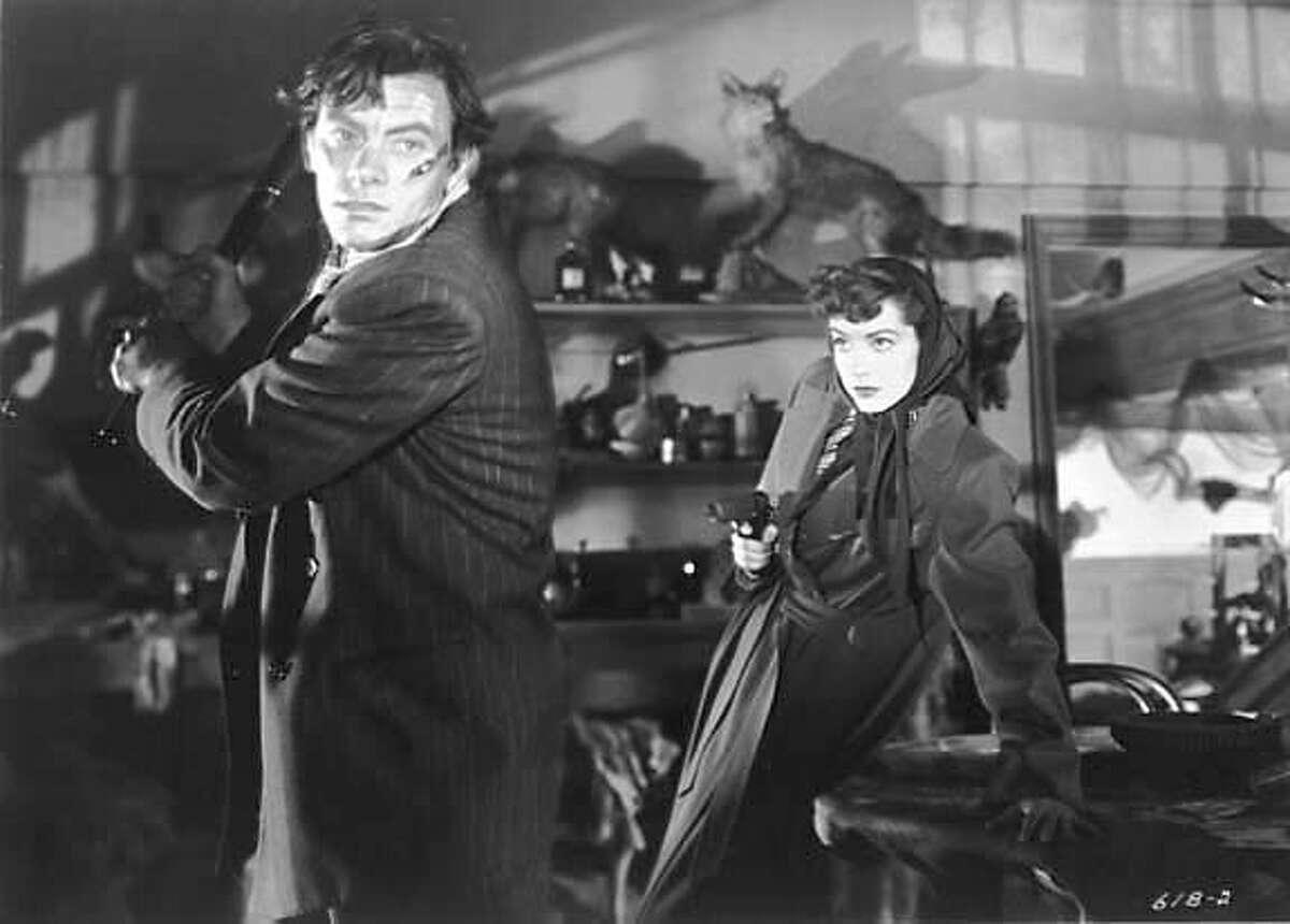 RAW DEAL: John Ireland and Marsha Hunt. Credit: Noir City 5