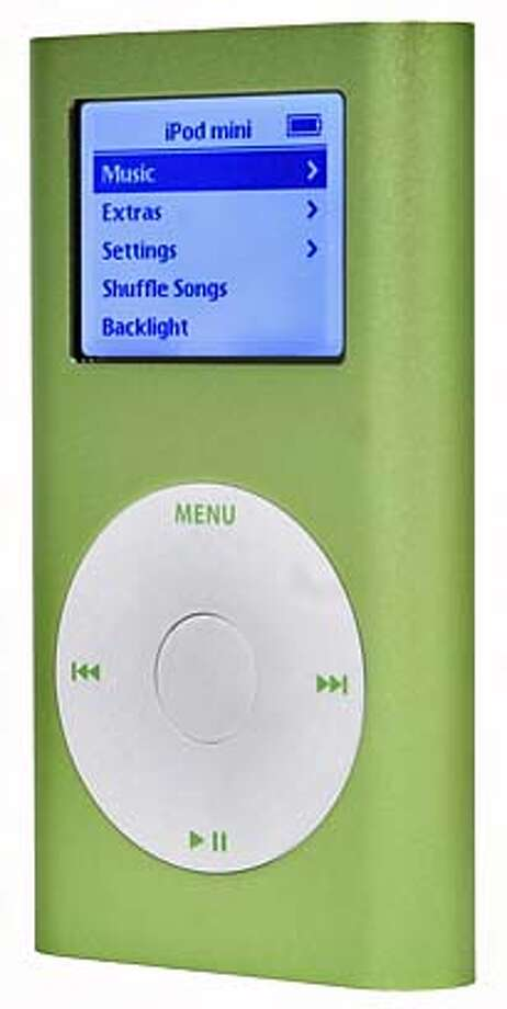 MP3 players that won't poop out, Apple iPod Mini.