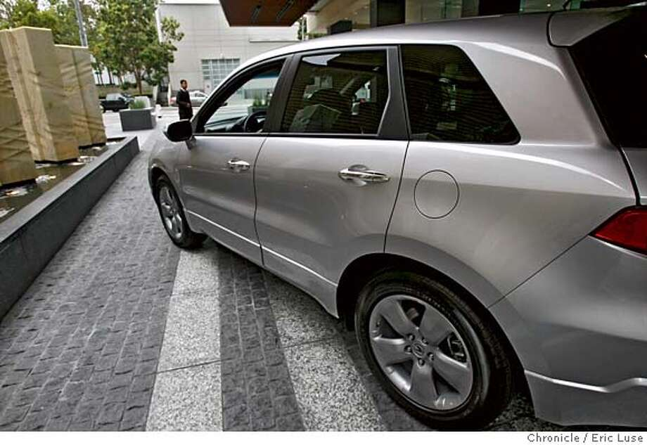 motorxxacuradx_027_el.jpg  2007 Acura RDX photographed at the St. Regis Hotel. Photographed on June 13, 2006 in San Francisco. Eric Luse/The Chronicle Ran on: 10-01-2006  Acura's RDX is designed to appeal to the man who is &quo;edgy, competitive, works hard, plays hard. Wants to impress peers-boss {hellip} Degree from a high profile school. (Lives in) downtown loft apartment.&quo; He has a household income of about $100,000 a year.  Ran on: 01-19-2007  The Acura RDX might be what we used to call a wagon, or a minivan, but the maker calls it a CUV.  Ran on: 01-19-2007 Ran on: 01-19-2007 Ran on: 01-19-2007 Ran on: 01-19-2007 Photo: Eric Luse