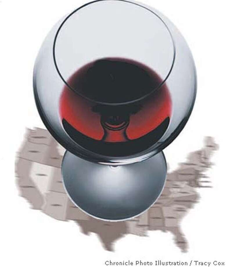 For nation's vintners, days of wine are rosy: $162 billion industry now in all 50 states with 1.1 million jobs. Chronicle illustration by Tracy Cox