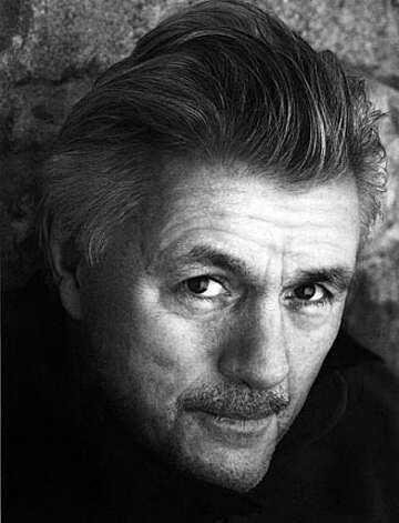 Author John Irving.