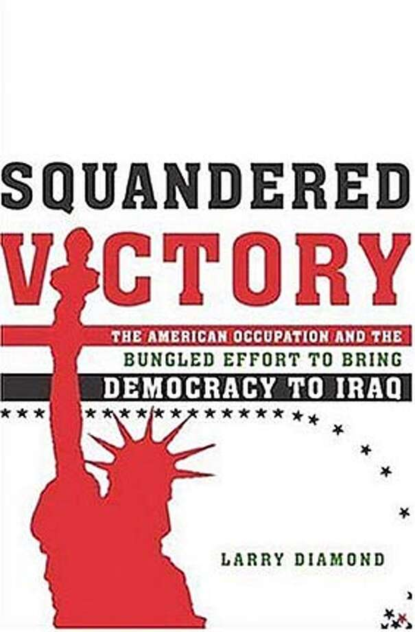 "Book cover art for, ""Squandered Victory"" by Larry Diamond."