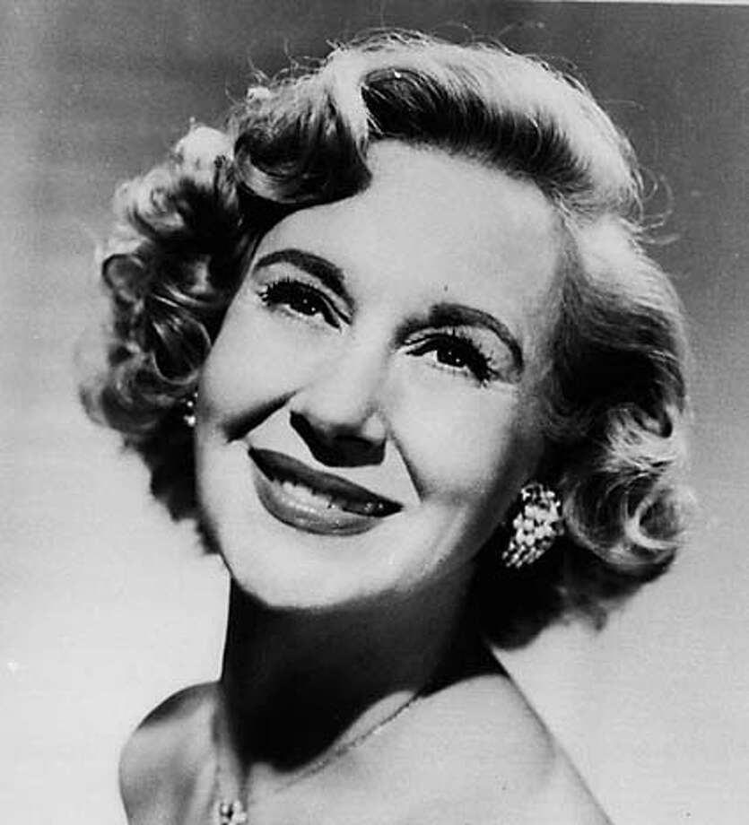 FILE--Arlene Francis is shown in a 1957 file photo. Francis, the actress and television personality who was a fixture on ``What's My Line?'' for 25 years, died Thursday, May 31, 2001, at a hospital in San Francisco. She was 92. (AP Photo/File) CAT