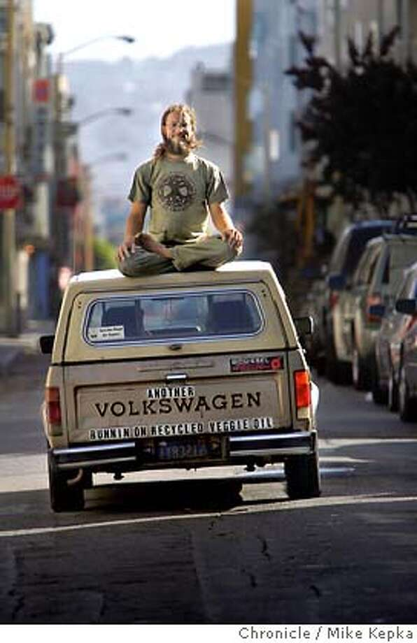 If you have a diesel car...Forget fossil fuels and run it on vegetable oil. The earth friendly practice is a small but growing trend in the Bay Area. 6/3/05 Mike Kepka / The Chronicle Photo: Mike Kepka