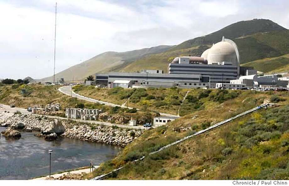 PG&E's Diablo Canyon nuclear power plant in Avila Beach, Calif. on Friday, May 26, 2006. The two spent fuel storage pools are nearing its capacity of 2,648 cells so plant officials are constructing a dry cask storage area to hold future radioactive fuel cell waste.  PAUL CHINN/The Chronicle Ran on: 11-29-2006  The Diablo Canyon nuclear power plant, south of San Luis Obispo, is owned by PG&E, which is exploring the possibility of out-of-state investments in nuclear plants. MANDATORY CREDIT FOR PHOTOGRAPHER AND S.F. CHRONICLE/ - MAGS OUT Photo: PAUL CHINN