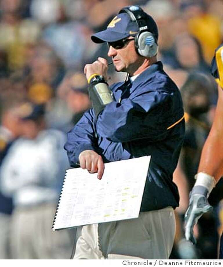 "Jeff Tedford, Cal coach. The California Golden Bears play the Stanford Cardinal at Memorial Stadium in the annual ""Big Game"". Photographed in Berkeley on 12/2/06. (Deanne Fitzmaurice/ The Chronicle) Photo: Deanne Fitzmaurice"