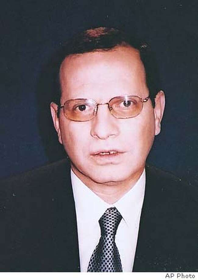** REPEATED FOR IMPROVED QUALITY ** An undated picture released Sunday July 3, 2005 by the family, of Egypt's ambassador to Iraq, Ihab al-Sherif, who was kidnapped late Saturday July 2, 2005, in Baghdad, the Iraqi capital. Egypt's top envoy has been kidnapped in Baghdad just weeks after arriving in the war-torn country, Egyptian diplomats said Sunday . (AP Photo) ** ** Photo: HO