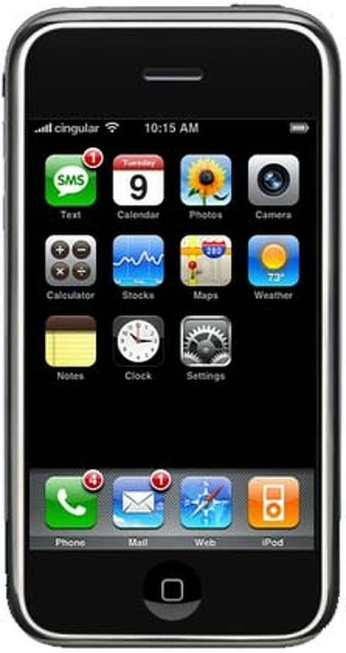 Apple's iPhone faces tough rivals, especially because of its price. Photo courtesy of Apple Inc.