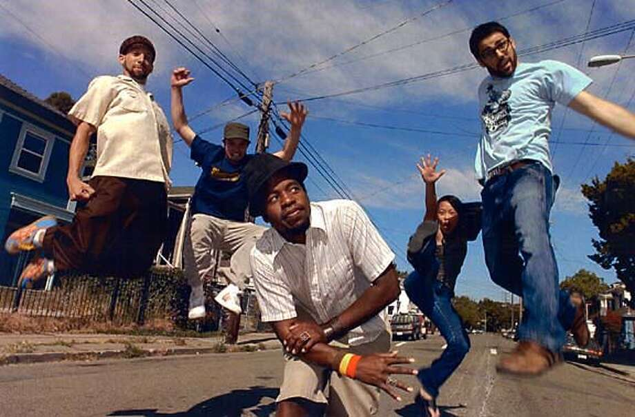 Hip-Hop collective.  Crown City Rockers (prictured)  Plays the Independent on Saturday Ran on: 02-04-2005  Photo caption Photo: Ho