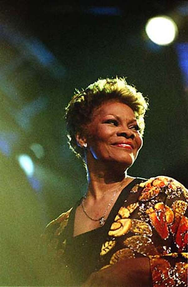 Dionne Warwick never gets tired of singing the same songs.