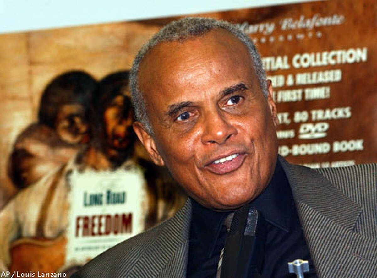 Singer and activist Harry Belafonte says he hopes anti-war forces in the United States will galvanize and focus on social justice issues. Associated Press photo, 2001, by Louis Lanzano