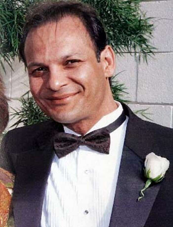 This is a undated family photo of filmmaker Cyrus Kar, an Iranian-born U.S. citizen and U.S. Navy veteran. Kar is being held in Iraq by American forces after security officials in Baghdad reported finding a common component for improvised bombs in his taxi, according to his family.The American Civil Liberties Union filed a lawsuit against the government Wednesday, July 6, 2005, in Los Angeles to gain his release. His family says Kar, 44, was in Iraq to film scenes for a documentary on King Cyrus the Great, founder of Persia, when he was arrested at a checkpoint in Baghdad in mid-May. (AP Photo/Nick Ut) UNDATED HANDOUT PROVIDED BY FAMILY OF CYRUS KAR.