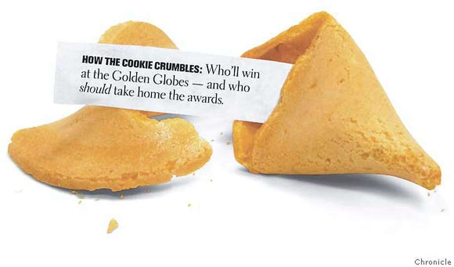 How the Cookie Crumbles: Who'll win at the Golden Globes and who should take home the awards. Chronicle Graphic