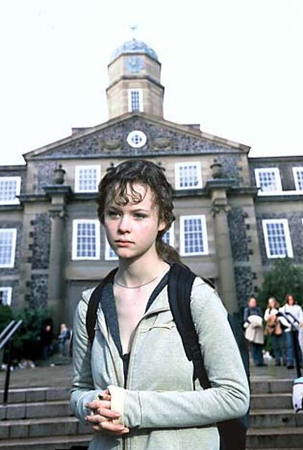"In ""Homeless to Harvard,"" Liz Murray (Thora Birch) wins a scholarship."