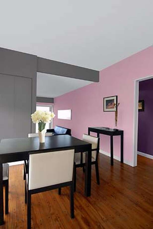 "Movie Star, a shade of pink that has been named the 2007 ""Color of the Year'' by color experts at Glidden paint. Photo: Handout"