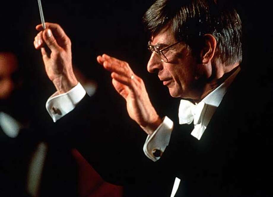SYMPH13/C/12FEB99/DD/HO HERBERT BLOMSTEDT CONDUCTOR LAUREATE SAN FRANCISCO SYMPHONY. TERRENCE MCCARTHY FOR THE SAN FRANCISCO SYMPHONY, 1992, Also ran 4/06/02