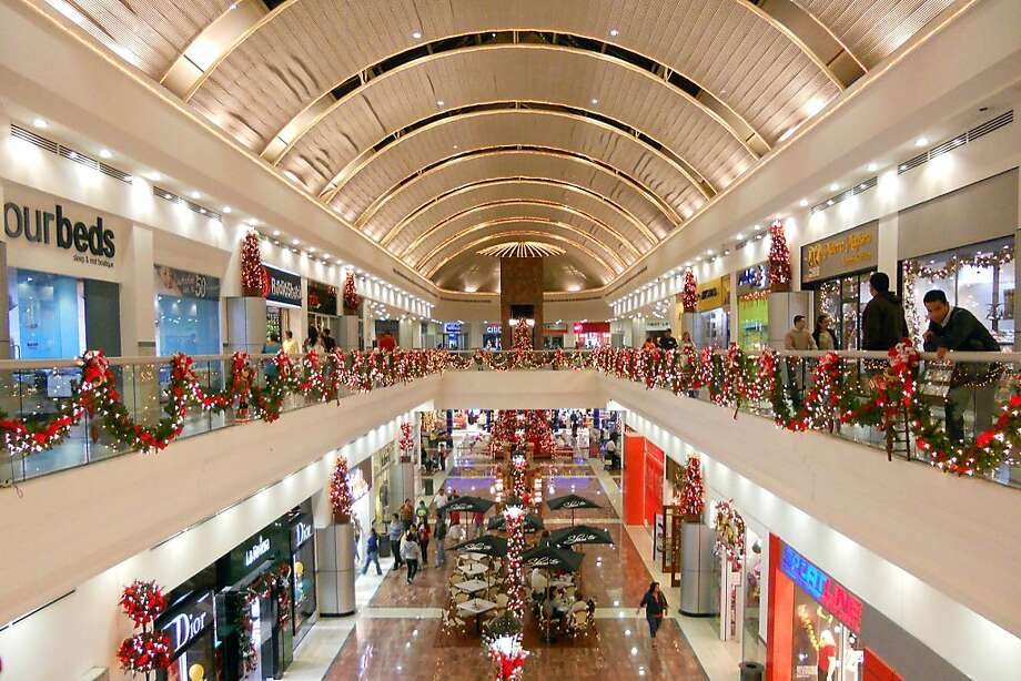 One of El Salvador's high-end shopping mall has the shiny fantasy aura of Disney World. Photo: Rick Steves, RickSteves.com