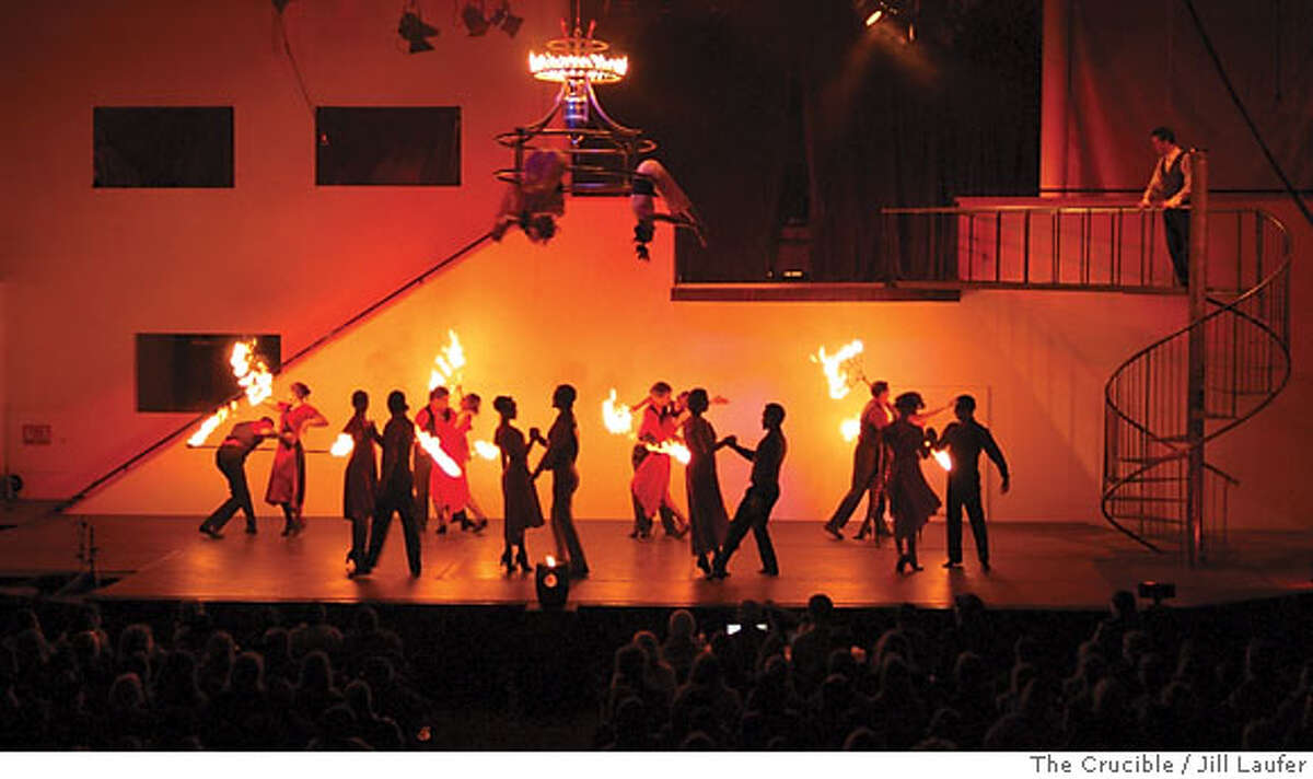 Romeo and Juliet: The Fire Ballet photo by Jill Laufer