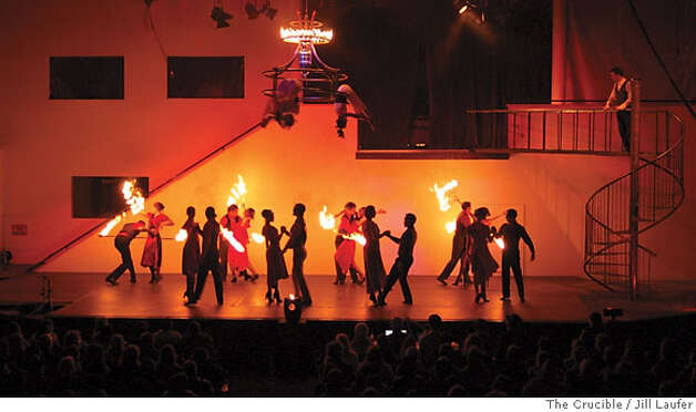 Romeo and Juliet: The Fire Ballet  photo by Jill Laufer Photo: Jill Laufer