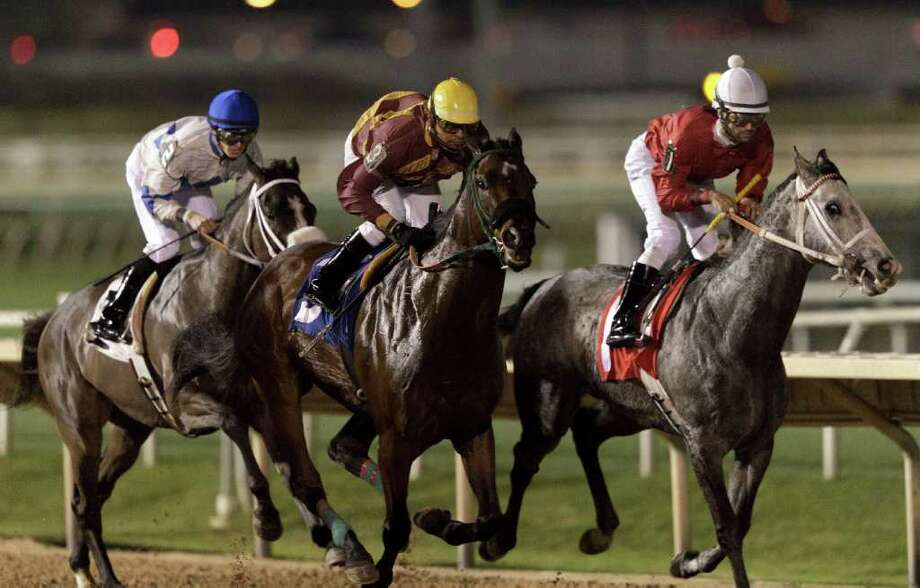 Sam Houston Race Park: Why the long face? This Saturday, Feb. 15 