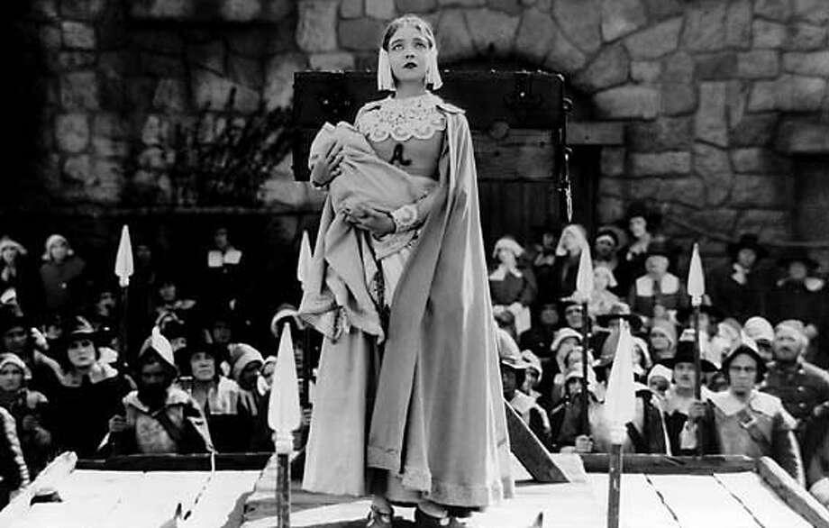 "Lillian Gish in ""The Scarlet Letter"" (1926)"