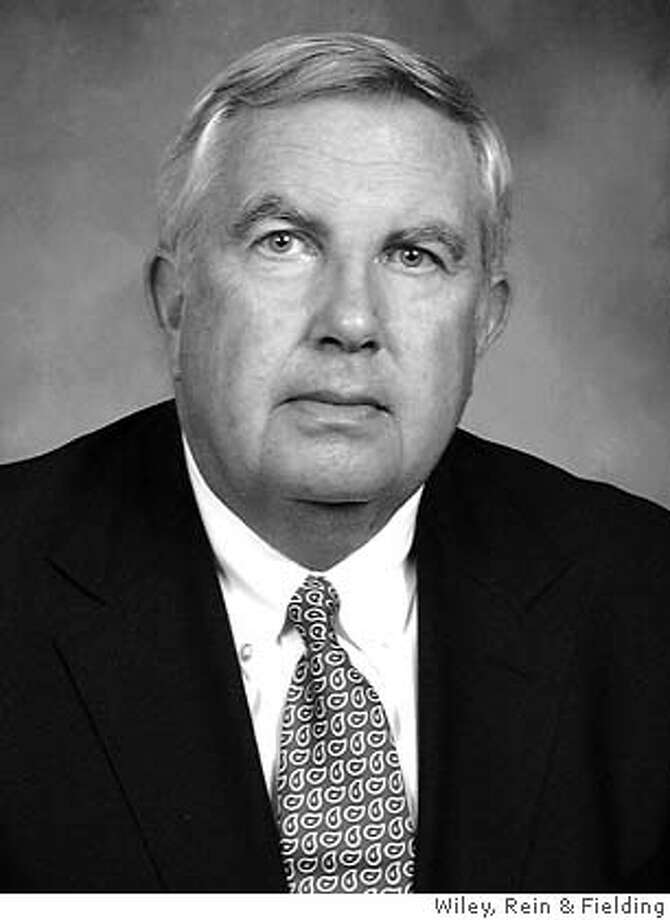Fred Fielding is on the 911 commission and is a partner at Wiley, Rein & Fielding in Washington, D.C..  COURTESY WILEY, REIN & FIELDING. ProductName	Chronicle Photo: Handout