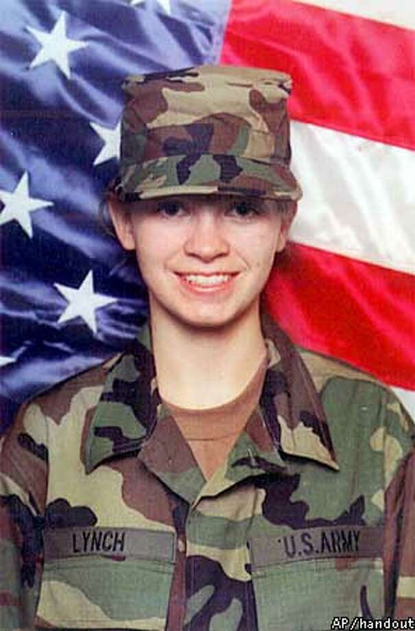 ** RETRANSMITTED TO CORRECT DAY TO TUESDAY, NOT WEDNESDAY ** Jessica Lynch, 19, seen in this undated photo, one of several soldiers who went missing after their supply convoy was ambushed in southern Iraq, March 24, 2003 was rescued, the Pentagon confirmed Tuesday, April 1, 2003. Lynch, 19, of Palestine, W.Va., worked as a supply clerk with the Army's 507th Maintenance Co. (AP Photo/Family Handout)