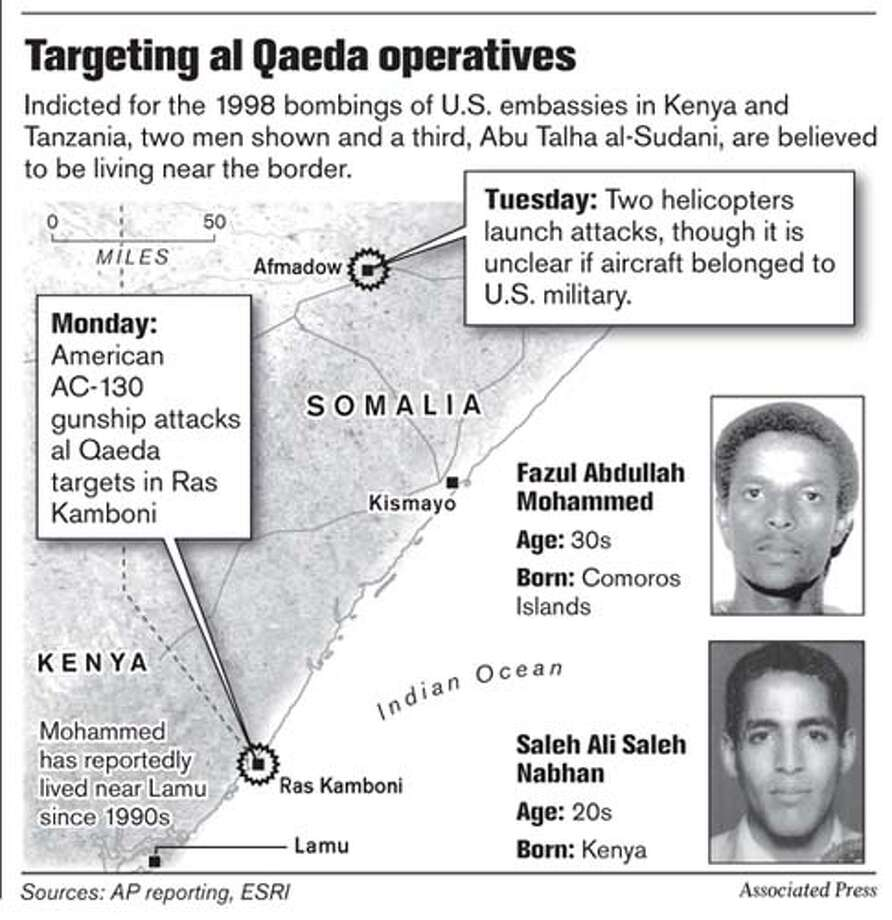 Targeting al Qaeda Operatives. Associated Press Graphic