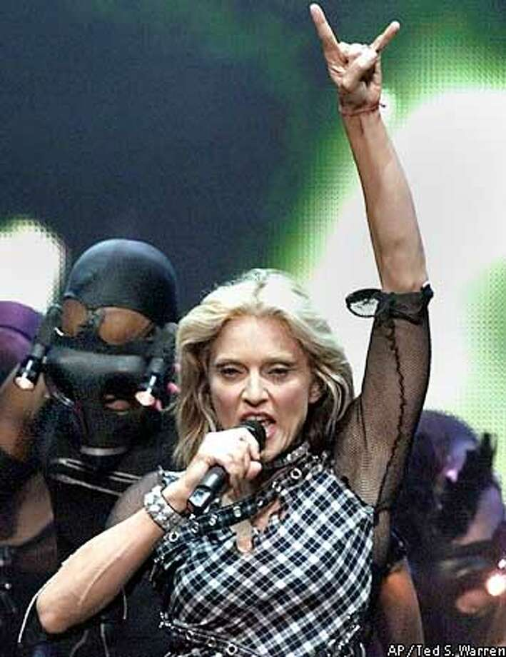 MADONNA Photo: TED S. WARREN