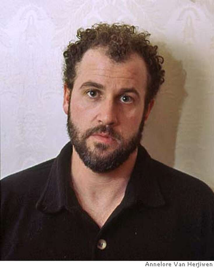 Picture of James Frey, who spoke to kids at Alameda County Juvenile Hall today. Photo by Annelore Van Herjiwen Photo: Annelore Van Herjiwen