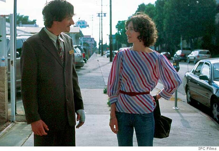 "In this photo provided by IFC Films, Richard (John Hawkes) and Christine (Miranda July) struggle to connect in "" ."" (AP Photo/ IFC Films)"