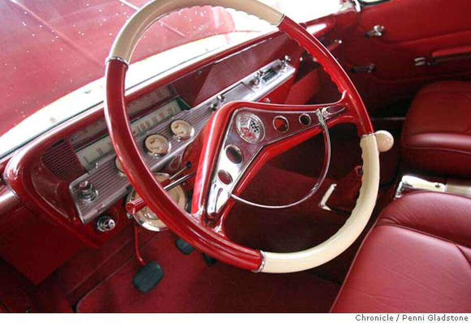 MOTOR07customcars  The interior of a 62 Chevy Impala SS.  Event on 12/26/06 in Napa.  Penni Gladstone / The Chronicle MANDATORY CREDIT FOR PHOTOG AND SF CHRONICLE/ -MAGS OUT Photo: Penni Gladstone