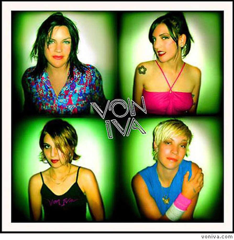 The band Von Iva Photo: Voniva.com