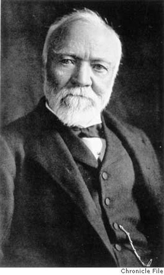 Andrew Carnegie. Chronicle file photo