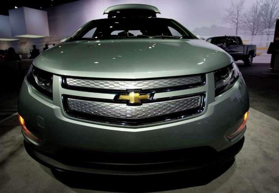 The Chevrolet Volt became the focus of a federal investigation after fires occurred in three safety tests. Photo: Scott Eells / © 2012 Bloomberg Finance LP