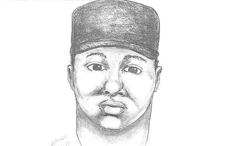RICHSLAY06 - Sketch of on of the suspects who allegedly grabbed a recent immigrant from El Salvador on the street in Richmond, and shot to death for no apparent good reason. b Photo: Bay City News