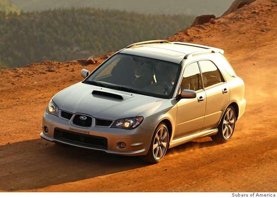 The All Wheel Drive Subaru Impreza Wrx Sport Wagon Can Perform Yes