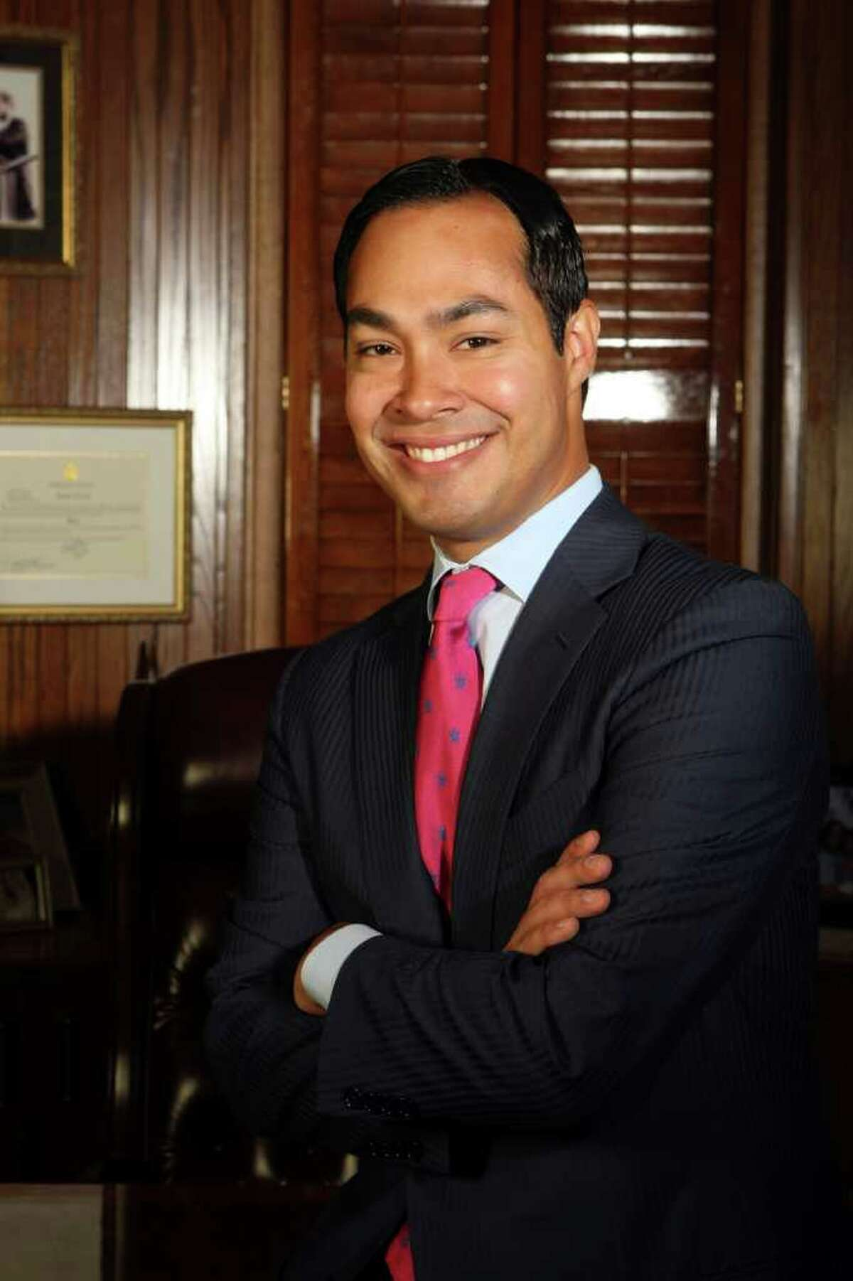 Mayor Julián Castro: President Barack Obama and San Antonio share an economic and educational vision.