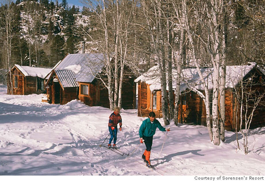 Cross Country Skiing at Sorensen's all season resort in the Sierra Nevada. Photo: Handout