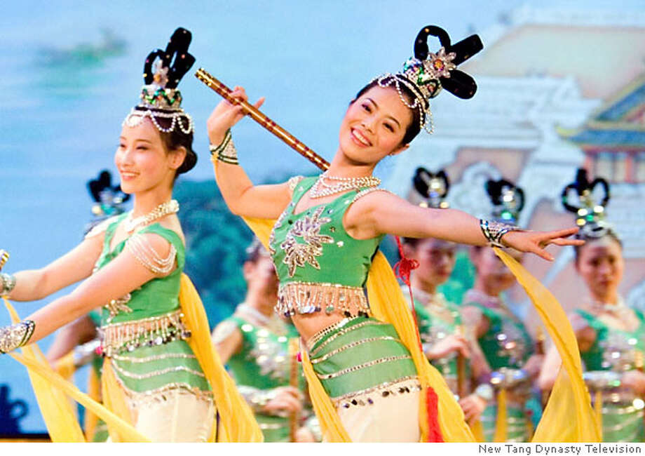 Dancers from the Chinese New Year Spectacular. Photo: New Tang Dynasty Television