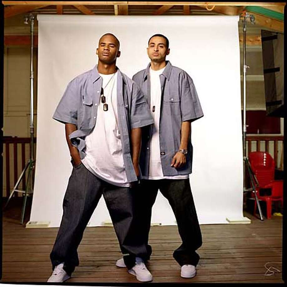 The Frontline, a hip-hop duo from Richmond. Source: Balin Public Relations Photo: Balin Public Relations
