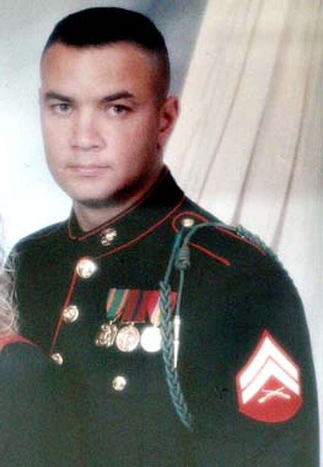 Lt. Frederick Pokorney Jr. is shown in this undated family handout photo. Lt. Frederick Pokorney Jr., is one of the Marines killed in an ambush Sunday, March 23, 2003 near An Nasiriyah, Iraq according to U.S. military officials. (AP Photo/Las Vegas Review-Journal, Lieseke Family) Photo: AMY BETH BENNETT