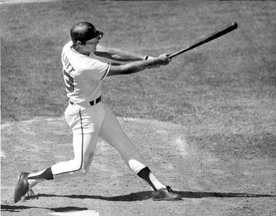 Randy Elliott hit .547 during the spring of 1977, earning a spot on the Giants' Opening Day roster.