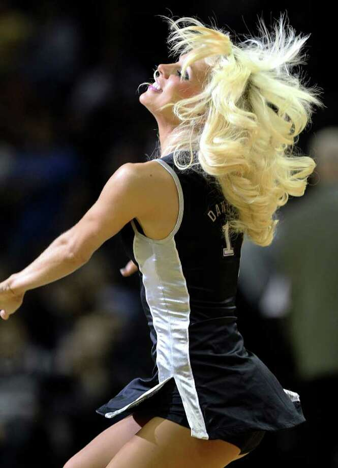 The Silver Dancers perform as the Spurs play Sacramento at the AT&T Center in San Antonio on January 20, 2012 Tom Reel/ San Antonio Express-News Photo: TOM REEL, Express-News / © 2012 San Antonio Express-News  MAGS OUT; TV OUT; NO SALES; SAN ANTONIO OUT; AP MEMBERS ONLY; MANDATORY CREDIT; EFE OUT