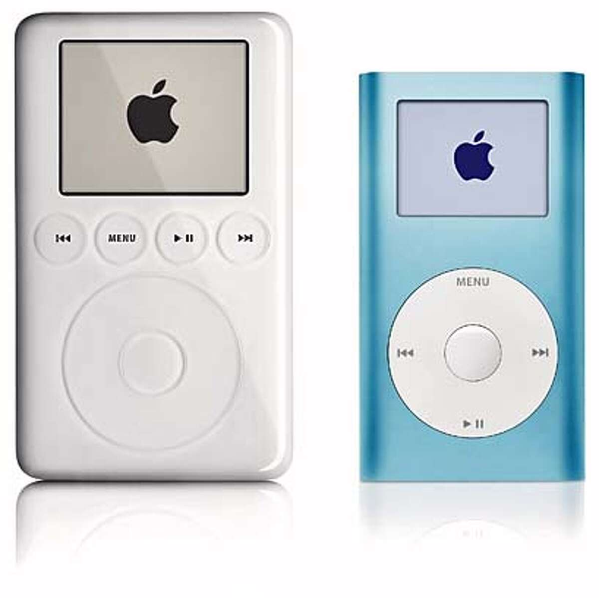 iPod with iPod mini Handout photo from Apple