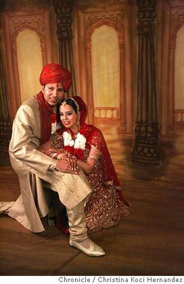 Indian wedding between Joy Verma and Mukesh Jain in San Jose at the Fairmont. .CHRISTINA KOCI HERNANDEZ/CHRONICLE Photo: CHRISTINA KOCI HERNANDEZ