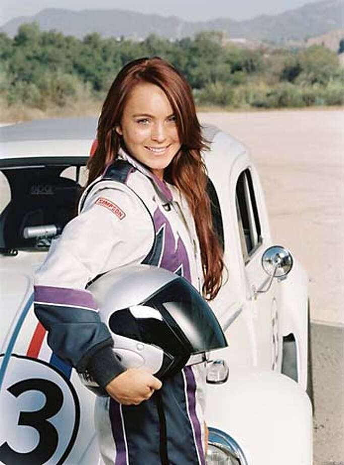"Lindsay Lohan in ""Herbie Fully Loaded"""
