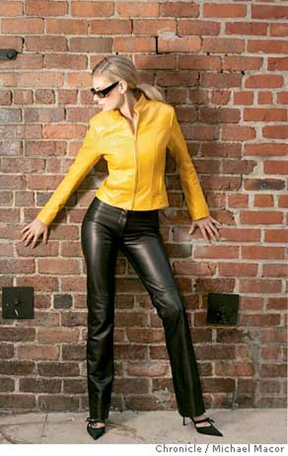 style_449_mac.jpg Leather, lingerie and swimsuit fashion shoots for the style section's.  11/30/04 Studio, CA Michael Macor / San Francisco Chronicle Mandatory Credit for Photographer and San Francisco Chronicle/ - Magazine Out Photo: Michael Macor