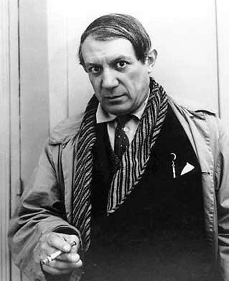 Pablo Picasso in 1935